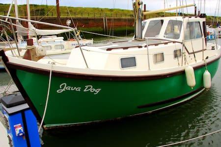 Motor Sailer, Maryport Marina - Maryport - Bateau