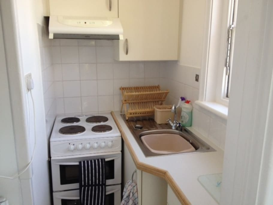 The smallest kitchen you've ever seen!