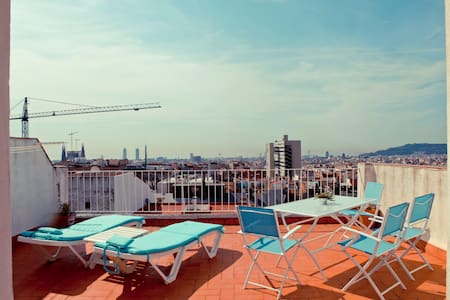 Gaudi Penthouse1- awesome VIEW !