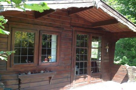 Cabin with ensuite shower room - Lostwithiel - Cabaña