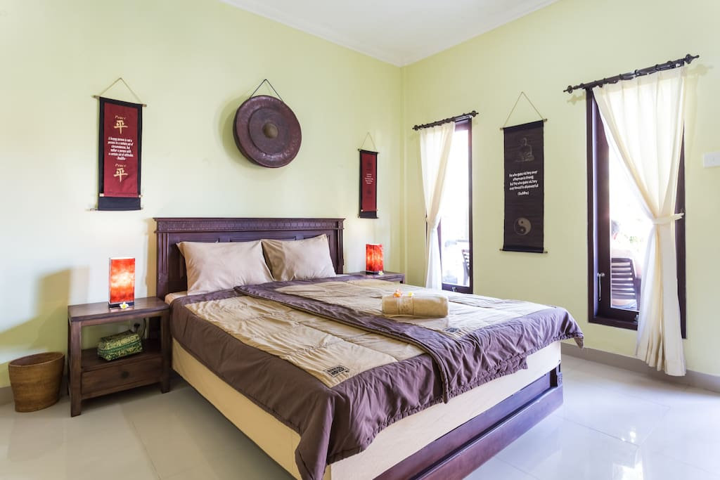 Indonesian style room
