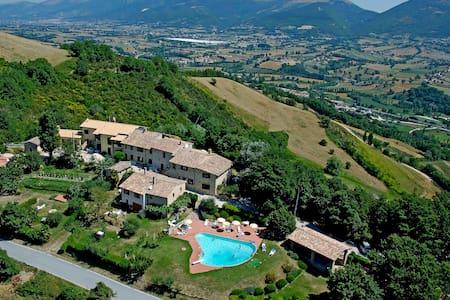 Borgo medievale piscina - Vite 1 - Nocera Umbra - Apartment