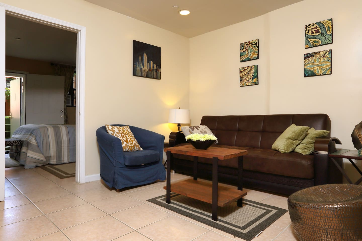 Beautiful new one bedroom apartment