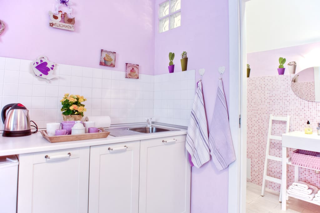 chambre violette studio apt ca apartments for rent in. Black Bedroom Furniture Sets. Home Design Ideas