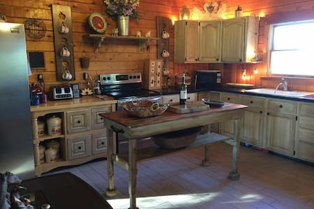 Country Log House Close To Acadia National Park. - Lamoine - Ev