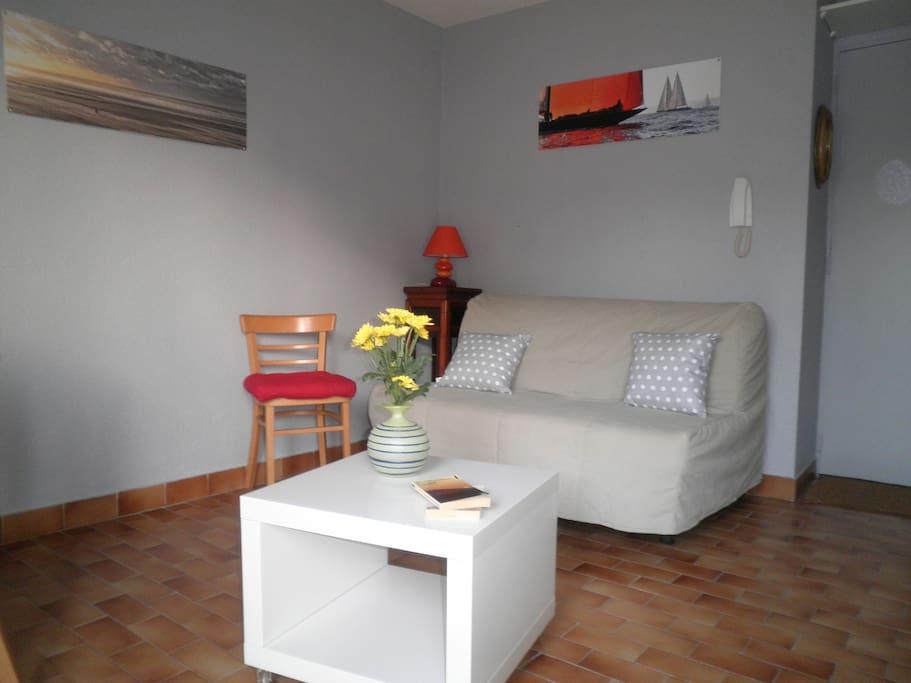 Studio plage Sète 230/350