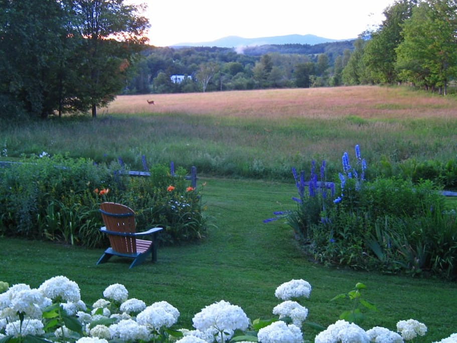 Large private home welcomes you and your family to Vermont's unspoiled countryside.