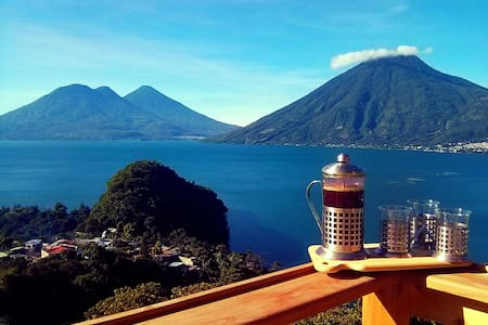 Eagle's nest - 180° of awesomeness! - San Marcos La Laguna