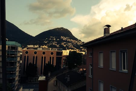 Charming Room in Beautiful Lugano - Huoneisto