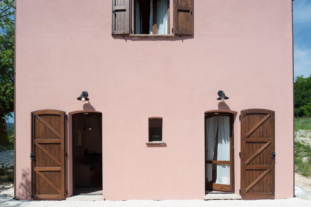 Esterno abitazione Granaio