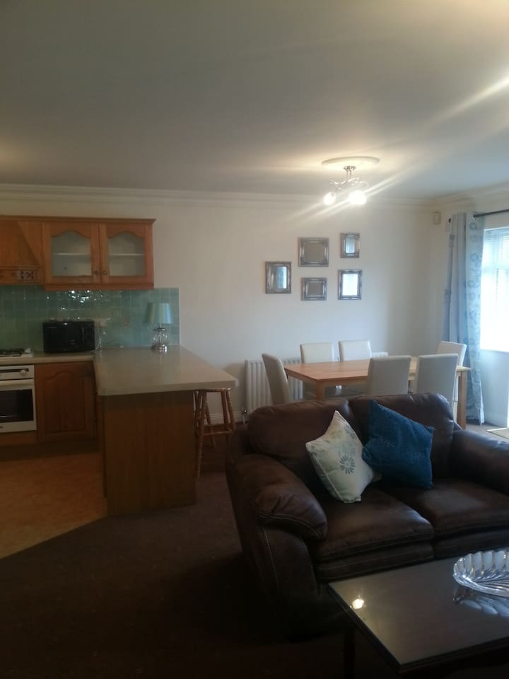 Lovely 2 bedroomed city apartment