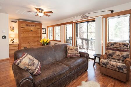One Room Studio Condo sleeps 4 - Tahoe City - Hus