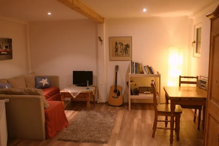 Gemütliches Erdgeschoss Appartment - Wohnung