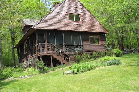 Cabin in the Berkshires - Zomerhuis/Cottage