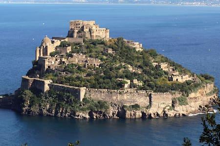 Luxury apt, breathtaking sea view - Ischia - Casa
