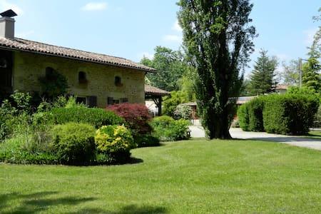 Maison typique de métayer landaise - Saint-Symphorien