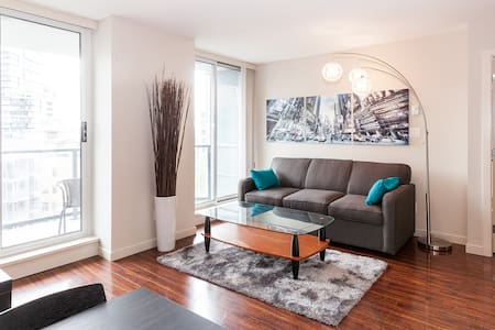 Stylish & convenient downtown condo - Vancouver - Wohnung