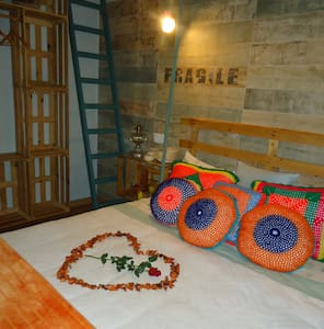 QUARTO DAS PALETES DA QUINTINHA - Caminha - Bed & Breakfast