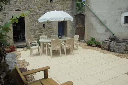 Authentic French Family Farmhouse w/ Pool - Toulonjac - House
