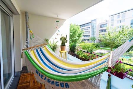 Modern, hell, grün und zentral! - Stuttgart - Apartment