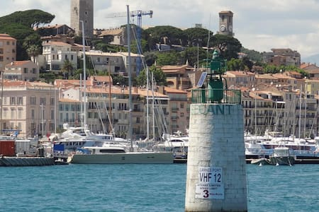 Cannes Harbor, 50m from the Beach - Cannes - Apartment