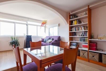 Acogedor apartamento con estupendas vistas - Pis