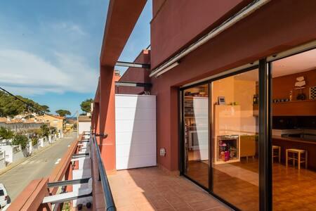 Apartamento con garaje en la playa, Ref. SR-28 - Sa Riera - Appartement