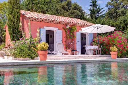 Mazet dans propriété avec piscine - Auribeau-sur-Siagne - Huis