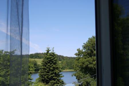 Апартаменты с видом на озеро. - Frymburk