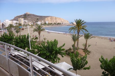 First line to the beach in Aguilas - Apartment