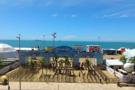 CLA202 Lindo flat frente a FanFest - Fortaleza - Apartment