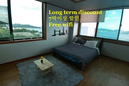 open discount :)돌산대교앞 Beautiful view! - Lägenhet