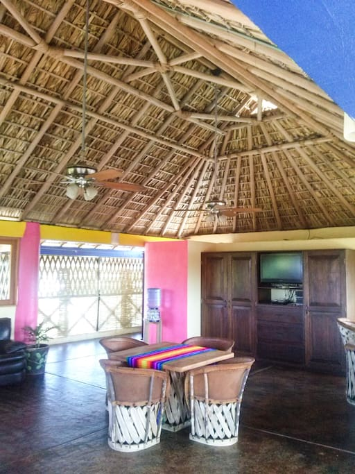 La Palapa with private bathroom