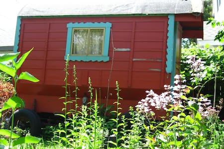 Garden Gypsy Wagon - House