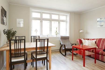 Bright and cozy 2 room in Cph NV