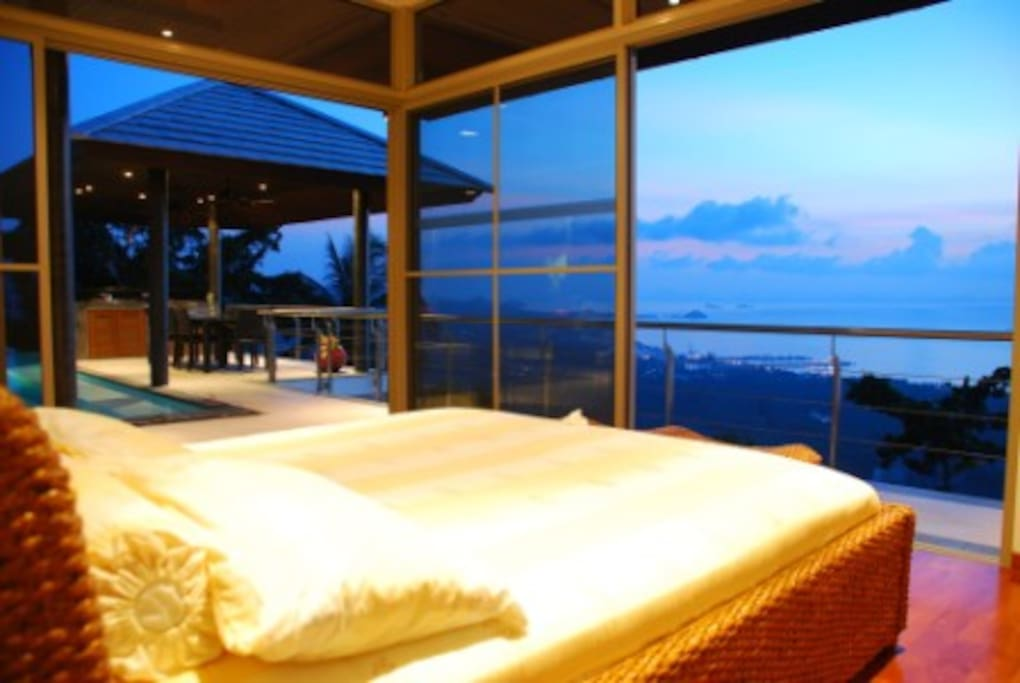 This room is known as our Ocean View Suite with direct access to pool deck and a spacious bathroom with seperate shower, bath and toilet