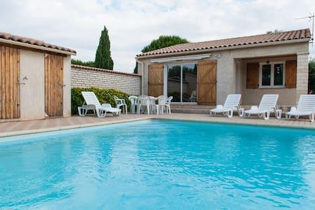 Belle villa avec piscine privative - Argeliers - Villa