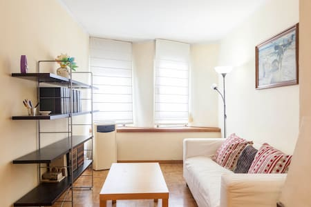 Nice and renovated apartment , totally fournished and equiped. 3 bedrooms (1 double, 2 singles) kitchen, living room. Very well communicated with Metro (Lines I, V, IX and X). Safe area close to Sagrada Familia (3 metro stations)