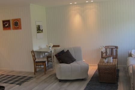 charming dorm on the countryside - Vollen - Sala sypialna