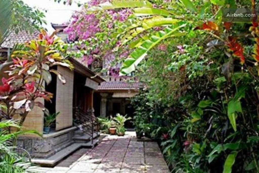 Gardens at Taman Sari House