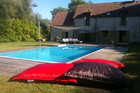villa with swimming pool  - Villa