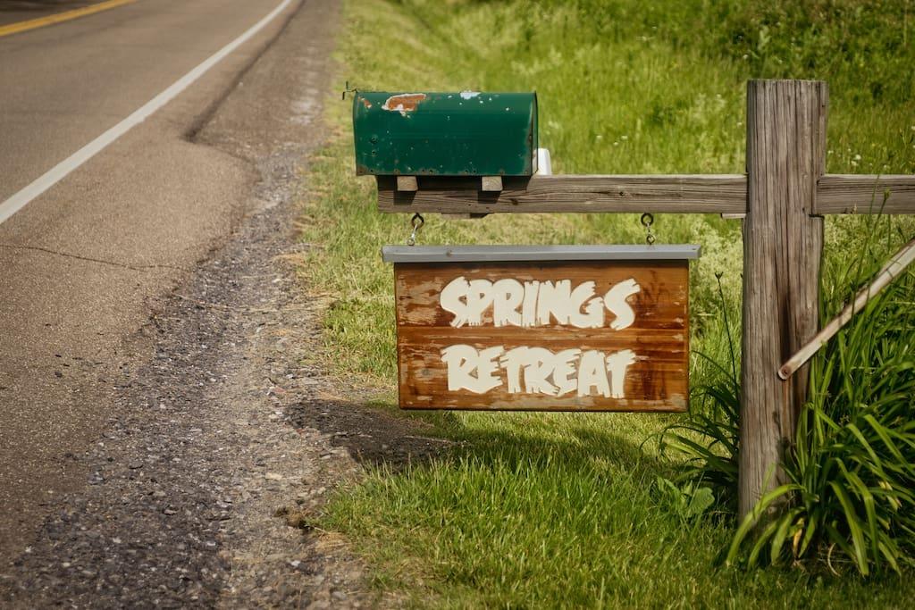 Springs Retreat Cabin Rental