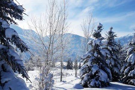 Sundance Log Cabin Mountain home - Sundance - Maison