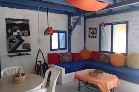 Blue House in Ayampe, by the beach - House