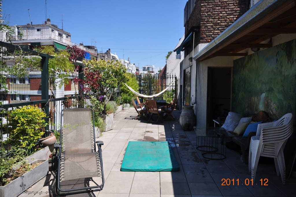 Recoleta 4 Rooms, Terrace with Pool
