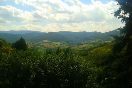 little house Umbria countryside - Nocera Umbra - House
