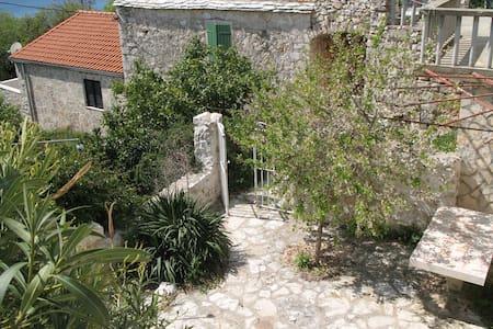 Stone house-AP2, Zavala-island Hvar - Jelsa - Wohnung