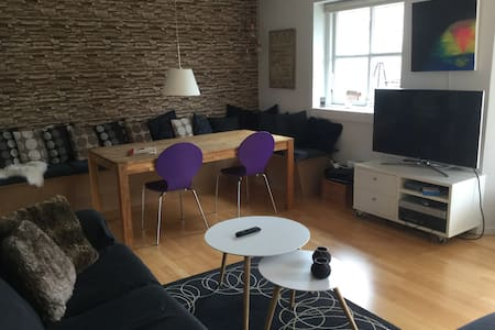 Charming townhouse 50 min from Cph - Casa