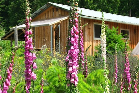 Sustainable living in sunny cottage