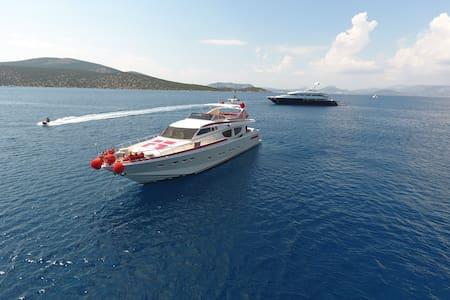 27 meters luxury yacht , with limo - Glyfáda - Barca